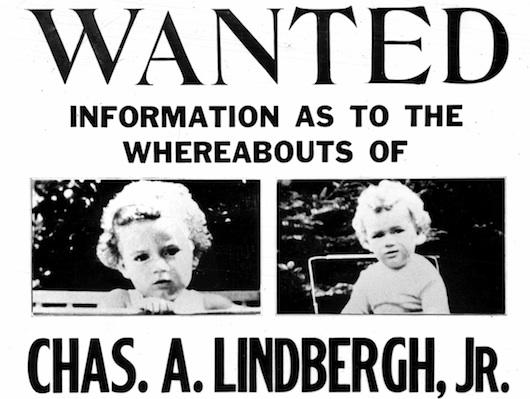 Lindbergh baby kidnapping