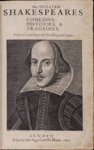 First Folio image