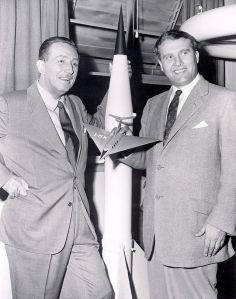 Walt Disney and Wernher von Braun